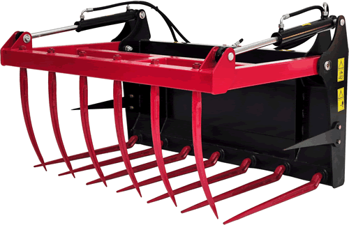 The manure fork grippers T 244, T 244/1